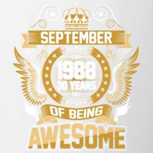 September 1988 30 Years Of Being Awesome - Coffee/Tea Mug