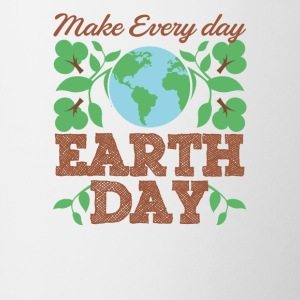 Make Every Day Earth Day Recycle Conservation - Coffee/Tea Mug