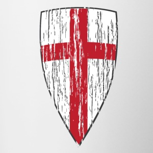 Crusader Shield Flag - Coffee/Tea Mug