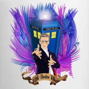 12th Doctor with rainbow Ray ban glasses - Coffee/Tea Mug