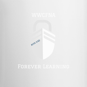 WWCFNA Forever learning white - Coffee/Tea Mug