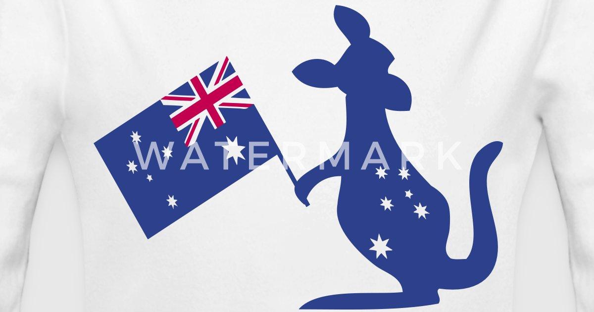 australia flag kangaroo by mycastillo spreadshirt
