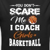 You Don't scare me i coach Girls Basketball - Organic Long Sleeve Baby Bodysuit