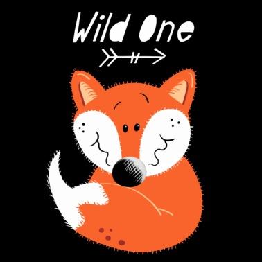 A sleeping fox Kids' Premium T-Shirt | Spreadshirt