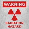 Radiation Hazard Warning Sign - Women's Long Sleeve Jersey T-Shirt