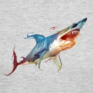 Colorful Shark - Women's Long Sleeve Jersey T-Shirt