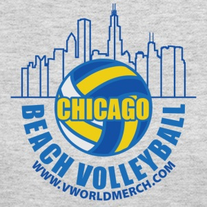 Chicago Beach Volleyball B - Women's Long Sleeve Jersey T-Shirt