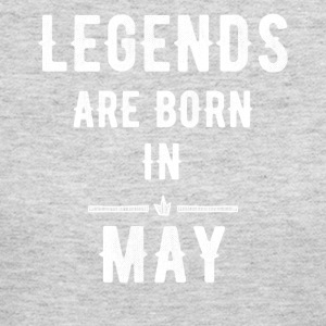 Legends are born in May - Women's Long Sleeve Jersey T-Shirt