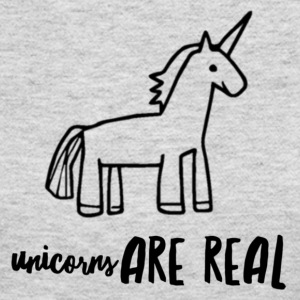 Unicorns Are Real - Women's Long Sleeve Jersey T-Shirt