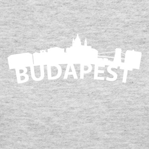 Arc Skyline Of Budapest Hungary - Women's Long Sleeve Jersey T-Shirt