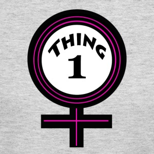 thing 1 female - Women's Long Sleeve Jersey T-Shirt