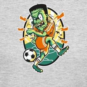 Frankenstein Soccer - Women's Long Sleeve Jersey T-Shirt