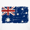Australia Flag - Vintage Look - Women's Long Sleeve Jersey T-Shirt