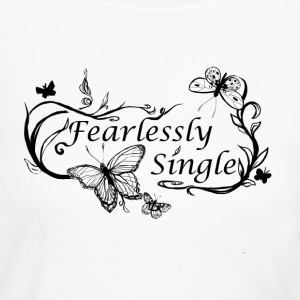 fearlessly single - Women's Long Sleeve Jersey T-Shirt