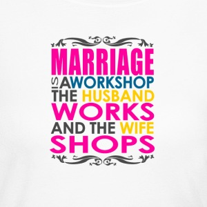 Marriage Joke - Women's Long Sleeve Jersey T-Shirt