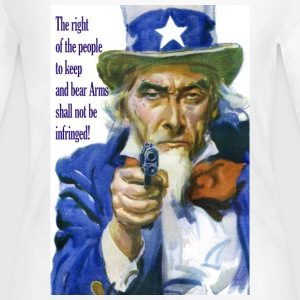 Second Amendment Right to Bear Arms - Women's Long Sleeve Jersey T-Shirt