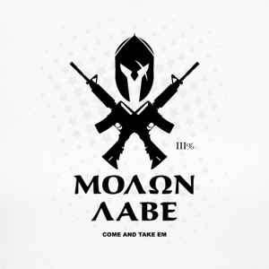 Molon Labe Rifles - Women's Long Sleeve Jersey T-Shirt