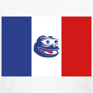 French Pepe the Frog - Women's Long Sleeve Jersey T-Shirt