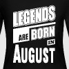 Legends Born In August - Women's Long Sleeve Jersey T-Shirt