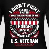 Proud Veteran Shirt - Women's Long Sleeve Jersey T-Shirt