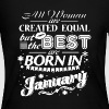 Best Woman Born In January - Women's Long Sleeve Jersey T-Shirt