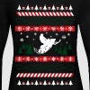 Ugly Christmas Snowmobile - Women's Long Sleeve Jersey T-Shirt