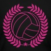 Cool Vintage Volleyball for Teams - Women's Long Sleeve Jersey T-Shirt