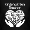 Kindergarten Teacher Shirt - Women's Long Sleeve Jersey T-Shirt
