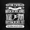 Baton Twirler Shirt - Women's Long Sleeve Jersey T-Shirt