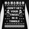Don't Get Your Tinsel In A Tangle - Women's Long Sleeve Jersey T-Shirt