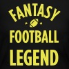 FANTASY FOOTBALL LEGEND - Women's Long Sleeve Jersey T-Shirt