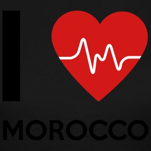 I Love Morocco - Women's Long Sleeve Jersey T-Shirt