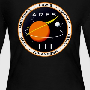 Ares 3 mission to Mars The Martian - Women's Long Sleeve Jersey T-Shirt