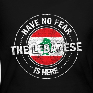 Have No Fear The Lebanese Is Here - Women's Long Sleeve Jersey T-Shirt