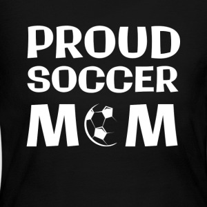 Proud Soccer Mom - Women's Long Sleeve Jersey T-Shirt