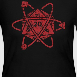 D20 Atom Dungeons apparel - Women's Long Sleeve Jersey T-Shirt