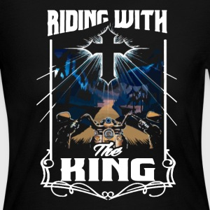BIKERS FOR CHRIST SHIRT - Women's Long Sleeve Jersey T-Shirt
