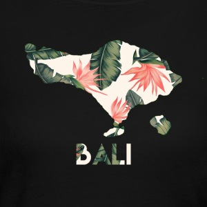 Bali Floral Island - Women's Long Sleeve Jersey T-Shirt