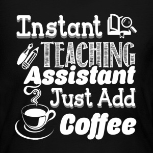 TEACHING ASSISTANT SHIRT - Women's Long Sleeve Jersey T-Shirt