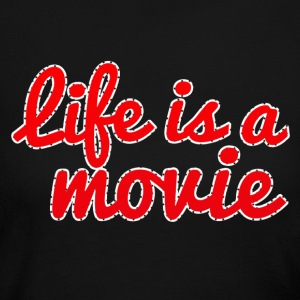 life is a movie - Women's Long Sleeve Jersey T-Shirt