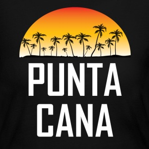 Punta Cana Sunset And Palm Trees Beach - Women's Long Sleeve Jersey T-Shirt