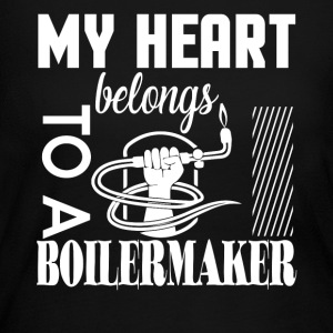 My Heart Belongs To A Boilermaker T Shirt - Women's Long Sleeve Jersey T-Shirt