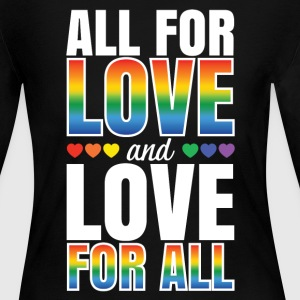 All For Love and Love For All - Women's Long Sleeve Jersey T-Shirt