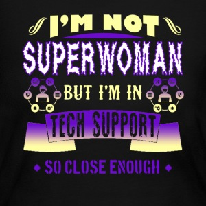 Superwoman Tech Support Shirt - Women's Long Sleeve Jersey T-Shirt