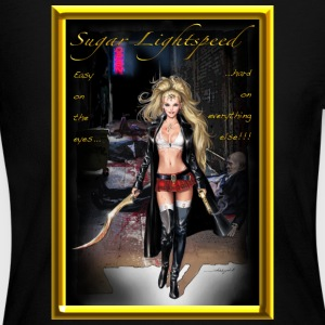 Sugar Lightspeed (Easy On The Eyes... 1) - Women's Long Sleeve Jersey T-Shirt