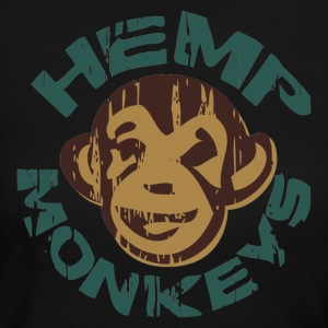 Hemp monkeys - Women's Long Sleeve Jersey T-Shirt