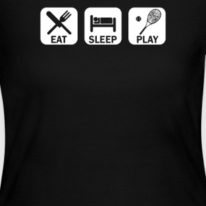 Eat Sleep Tennis - Women's Long Sleeve Jersey T-Shirt