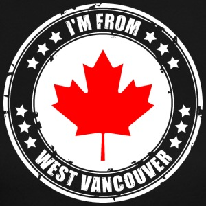 I'm from WEST VANCOUVER - Women's Long Sleeve Jersey T-Shirt