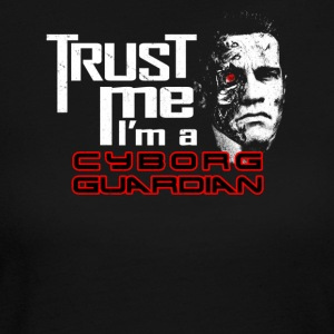Trust me i m a cyborg guardian - Women's Long Sleeve Jersey T-Shirt
