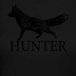Fox Hunter - Women's Long Sleeve Jersey T-Shirt